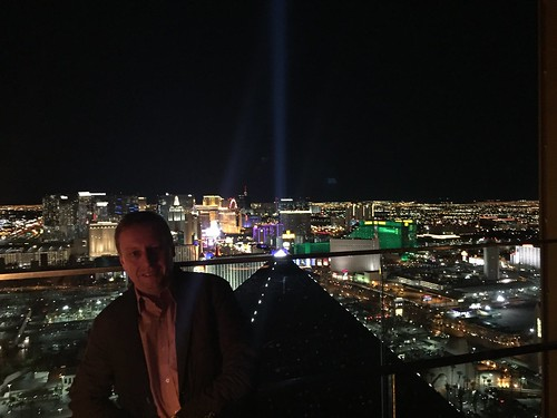 View over Las Vegas from Mix Lounge (43rd floor of Delano)