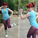 Small photo of Halloween 80s Aerobics Instructor Costume