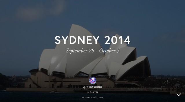 Exposure : Sydney2014