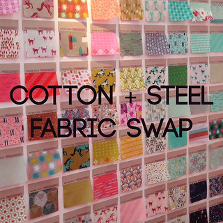 Cotton and Steel Fabric Swap
