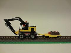 Hi-Rail Construction Equipment