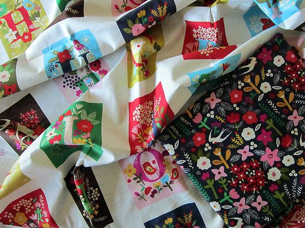 nursery fabrics from Windham by Carolyn Gavin