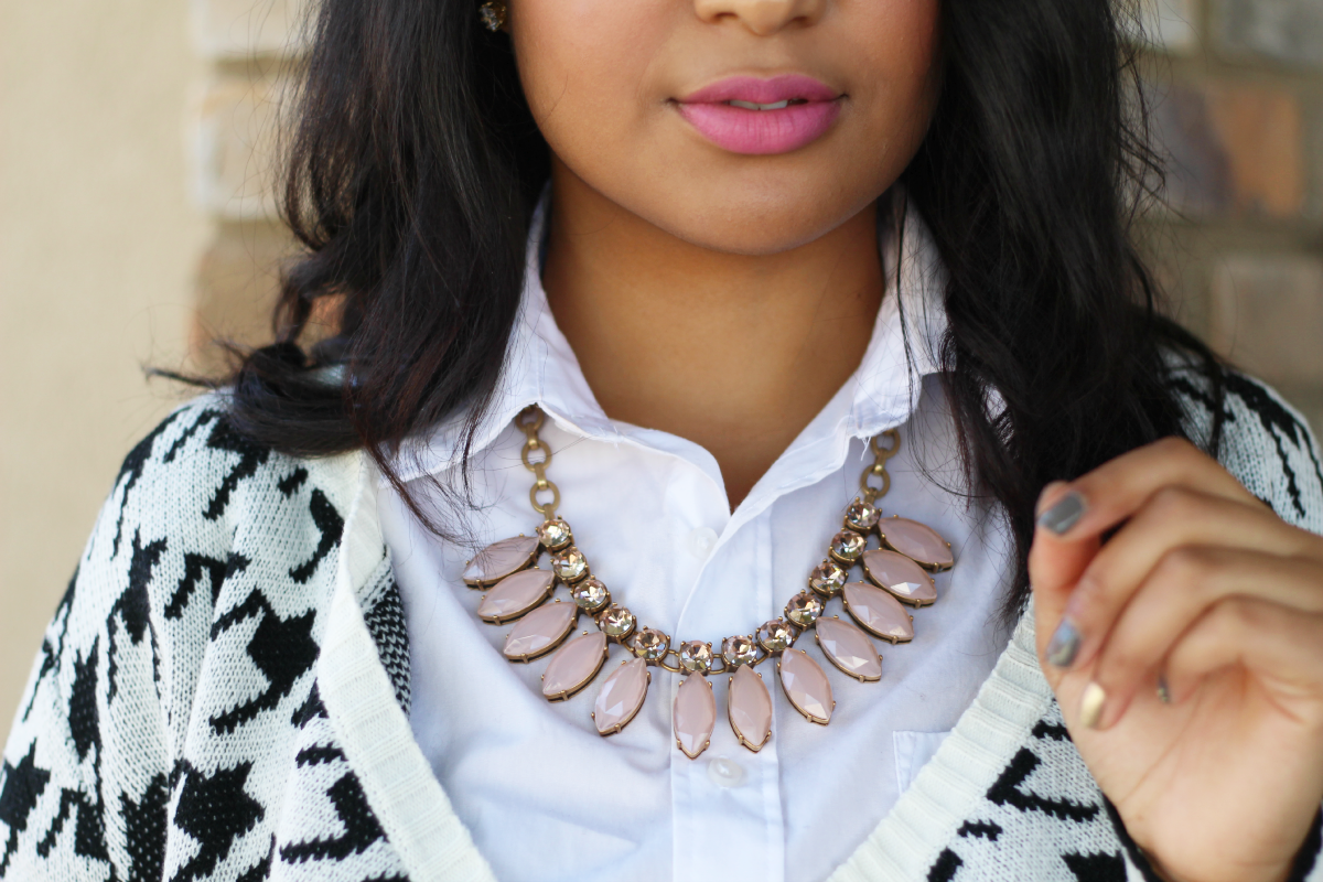 Pink J. Crew Necklace
