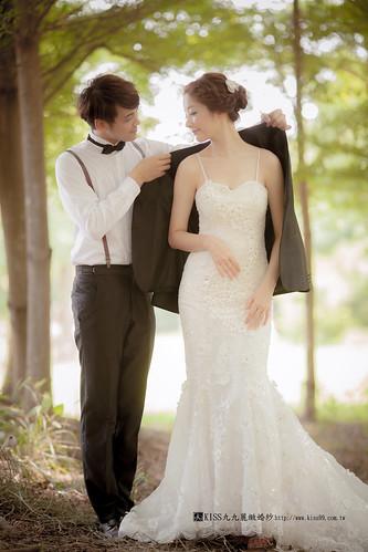 高雄KISS九九麗緻婚紗韓風婚紗攝影分享 (1)