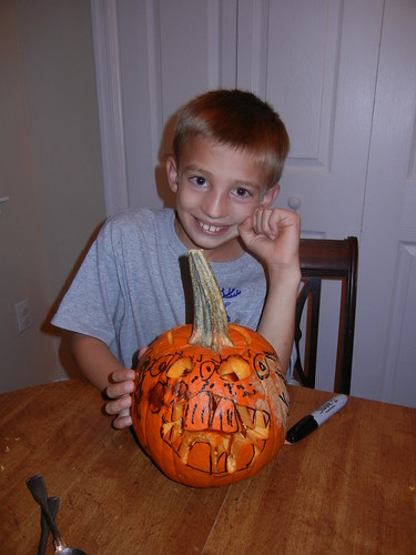 Oct 17 2014 Doller pumpkin carving (11)