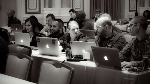 Attendees at An Event Apart San Francisco 2014