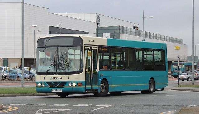Arriva NW 2641 CX07CSY Kings Parade, New Brighton 13 January 2015