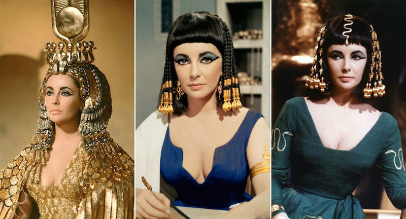 Halloween costume inspiration Elizabeth Taylor as Cleopatra