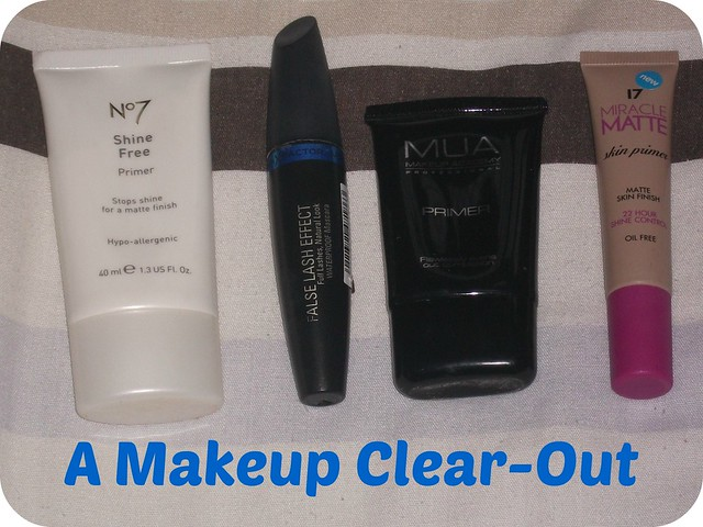 A Makeup Clearout