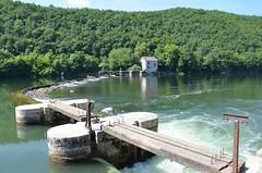 River Lot - Barrage d'Orgueil