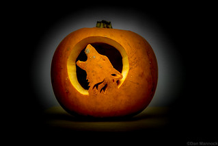 Halloween Pumpkin - Wolf - Entry No. 3
