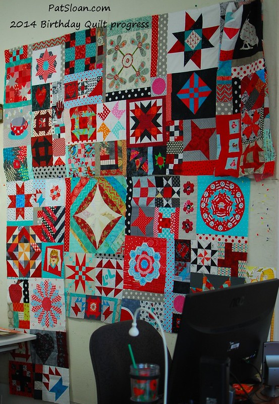 pat sloan nov 26 2014 birthday quilt 1