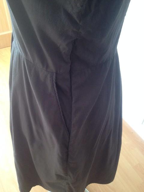 McCalls 6727 side seam and zipper