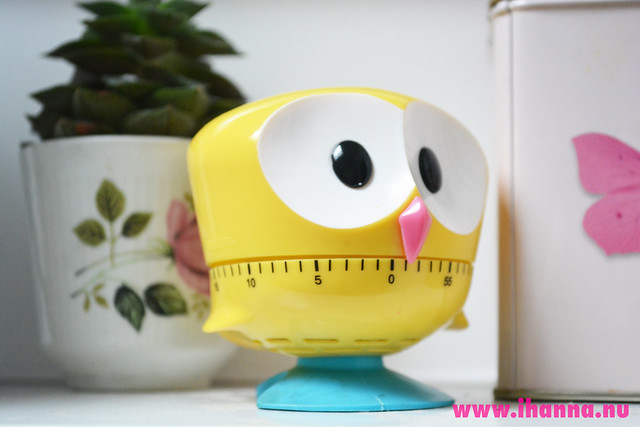 Kitchen Timer Owly yellow fellow photo by iHanna