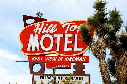 Hill Top Motel, Route 66, Kingman, Arizona
