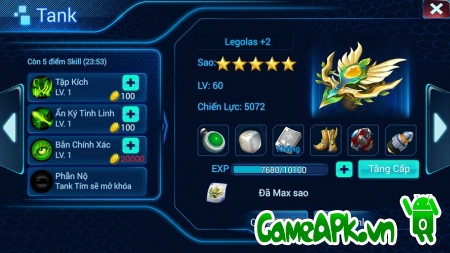 Bang Bang Mobile – Bắn Tank Online cho Android