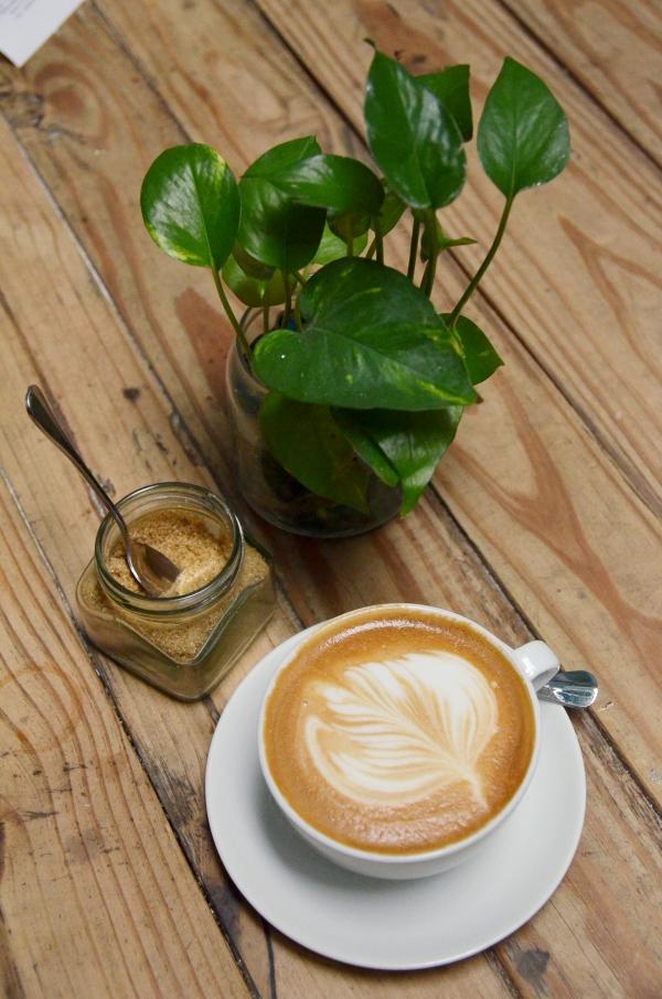 Latte @ Mugshot Cafe