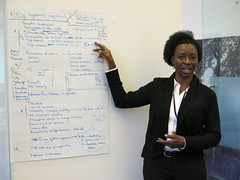 Dolapo Enahoro at the SASI workshop