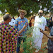 Rotary Governor visits the Farmers of the Future sites