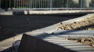 Striped Concrete