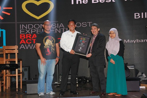 Indonesia Most Experiential Brand Activation Award 2014
