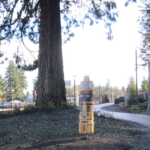 Trolley Trail Totem Pole, #1