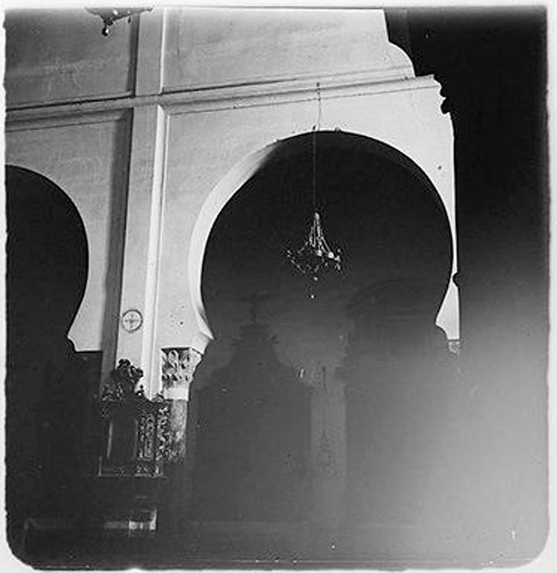 Iglesia de San Román en 1904. Fotografía de Augusto T. Arcimis © Fototeca del IPCE, MECD. Signatura ARC-0718_P