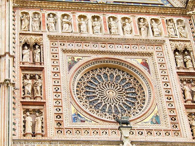 Dom, Rosette, Orvieto