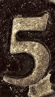 5 (Brass number)