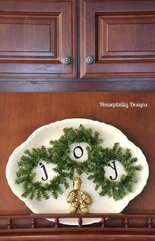 Joy Wreath Platter-Housepitality Designs