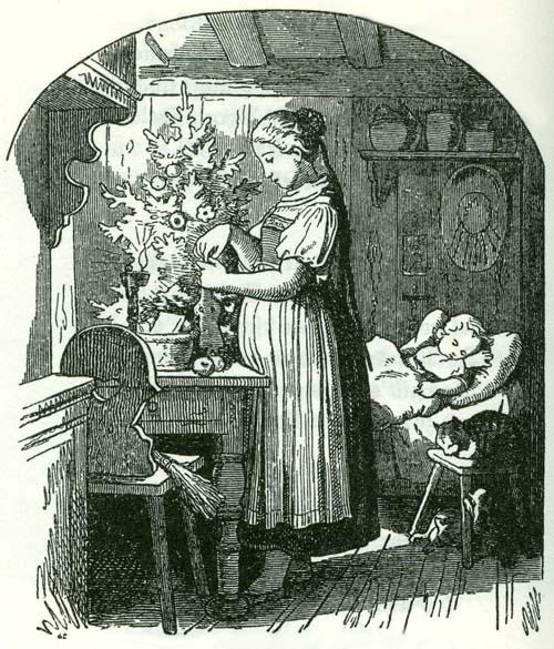 Ludwig Richter, Die Mutter am Christabend