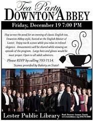 Downton Abbey Tea Part