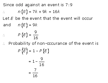 RD-Sharma-class-11 Solutions-Chapter-33-Probability-Ex-33.3-Q-27