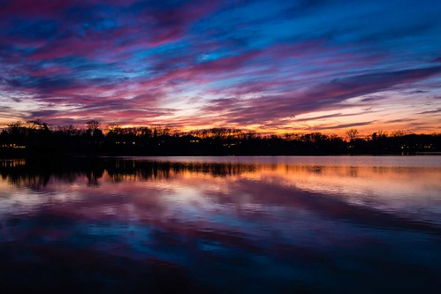 blue orange lake reflection colorful purple michigan bloomfield yabbadabbadoo squarelake scenicmichigan canon6d cloudsstormssunsetssunrises canonef35mmf2isusm