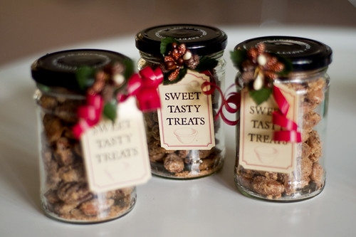 Cinnamon Candied Nuts (Almonds & Pecans)