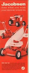 1964 Jacobsen Mower Advertisement Life Magazine April 17 1964