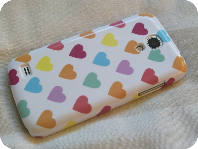 Pastel Polka Hearts Phone Case