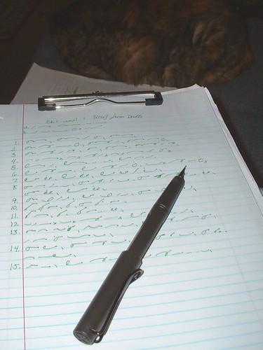 shorthand practice 1-4-15