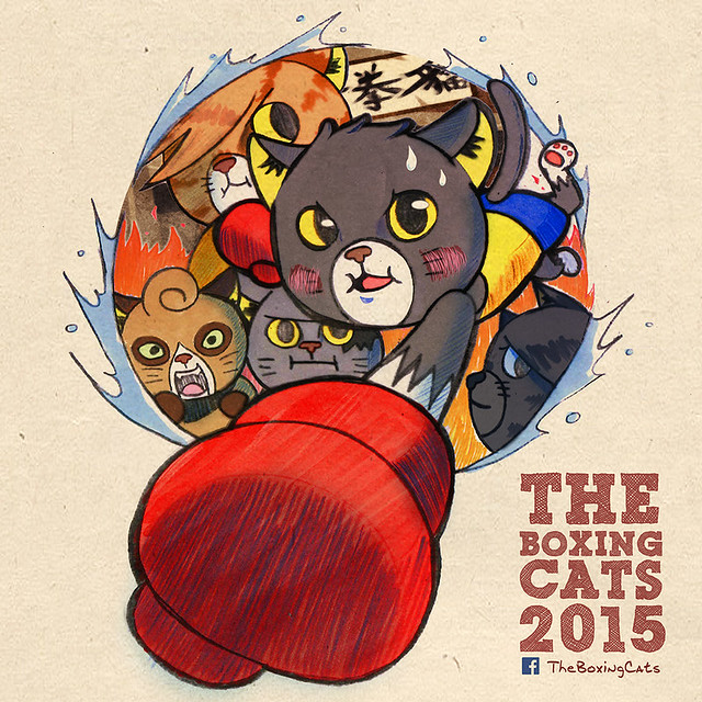 "Devil Toy × Kaiser Luna 聯名企劃 ""打拳貓""(The Boxing Cats)"