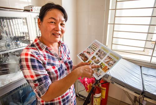 Dengue Fever Prevention Project, Long Tuyen Health Centre.
