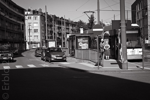 """Belgians know why ..."",  Streetphotography, Fujifilm X10"