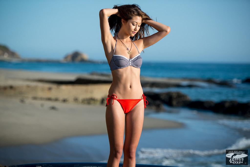 Asian bikini moels