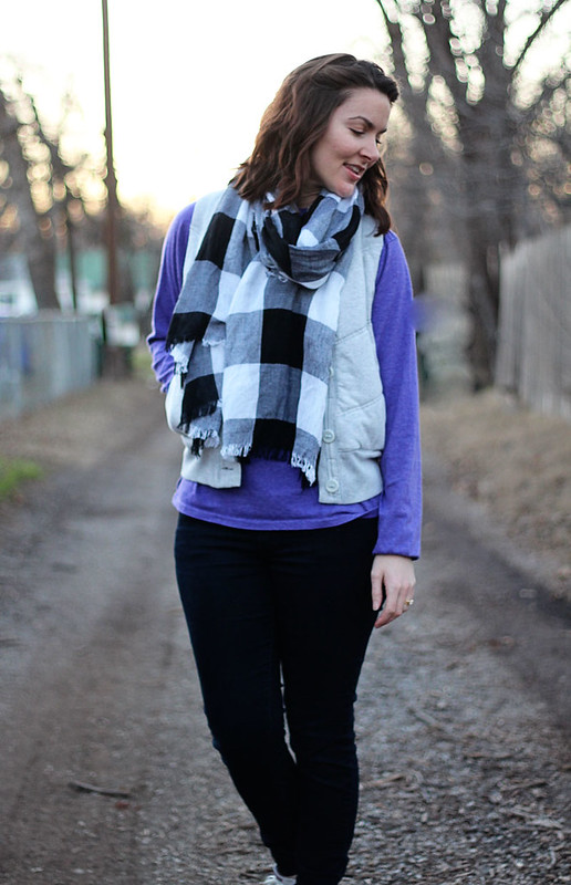 purple-shirt-plaid-scarf-vest-1