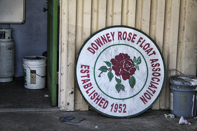 Downey Rose Float 2015