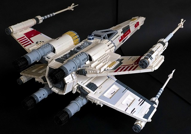 UCS X-Wing Red Five, by usfighting