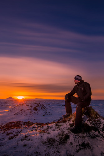 sunset sky favorite sun mountain snow ice beautiful field rock sunrise landscape lava frozen iceland frost seat hike cover freeze enjoy keilir selfie hvassahraun