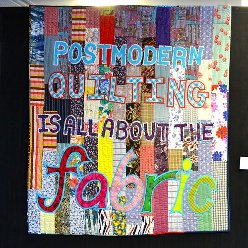 Postmodern Quilting Is All About the Fabric - Catherine Croucher