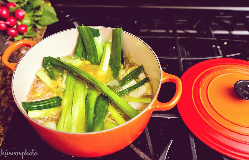 radish potato leek soup vegan recipe soup-cleanse