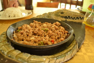 Crocodile Sisig in Palawan