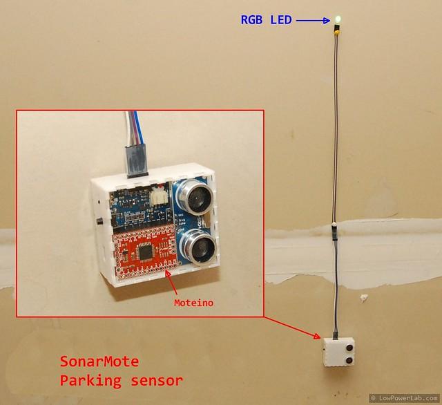 SonarMote parking sensor